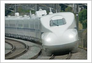 カルムーンシートを新幹線に採用