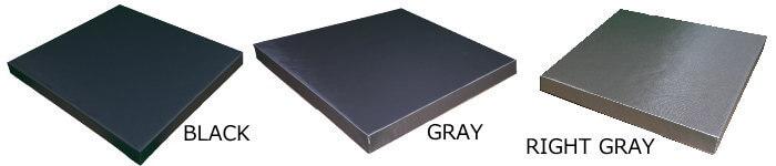 黒色の64kグラスウール吸音板