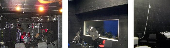録音スタジオの施工例