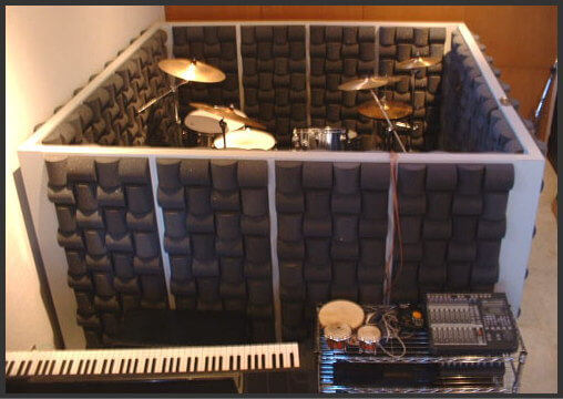 ドラム用のウレタン吸音材